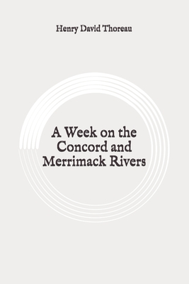 A Week on the Concord and Merrimack Rivers: Original Cover Image