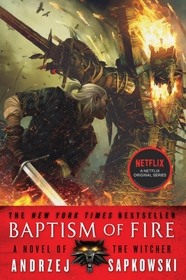 Baptism of Fire Lib/E (Witcher #5) Cover Image