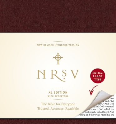 Xtra Large Print Bible-NRSV Cover Image