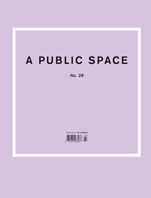 A Public Space No. 28 Cover Image
