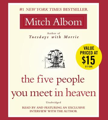 The Five People You Meet in Heaven: A Fable Cover Image