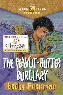 The Peanut-Butter Burglary Cover