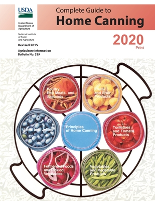 Complete Guide to Home Canning: Revised 2015 Cover Image