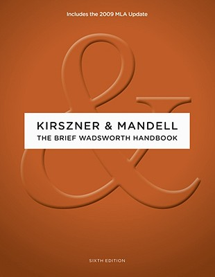 The Brief Wadsworth Handbook, 2009 MLA Update Edition Cover Image