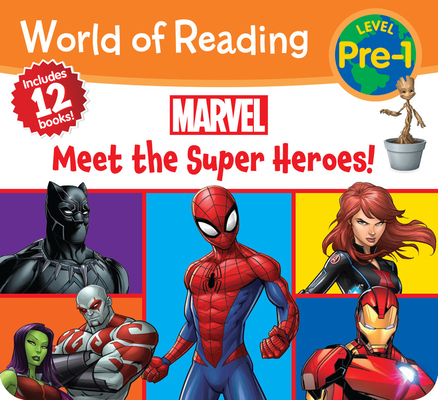 World of Reading Marvel Meet the Super Heroes! (Pre-Level 1 Boxed Set) Cover Image