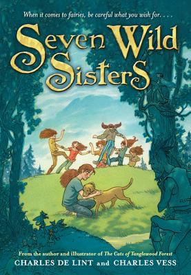 Seven Wild Sisters: A Modern Fairy Tale Cover Image