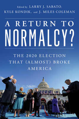 Cover for A Return to Normalcy?