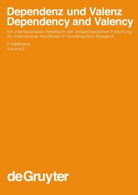 Cover for Dependenz Und Valenz 2.Teilband