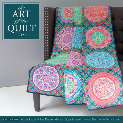 Art of the Quilt 2021 Wall Calendar Cover Image