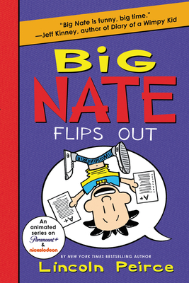 Big Nate Flips Out Cover Image