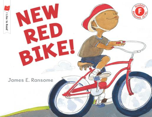 Cover for New Red Bike! (I Like to Read)