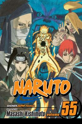 Naruto, Vol. 55 cover image