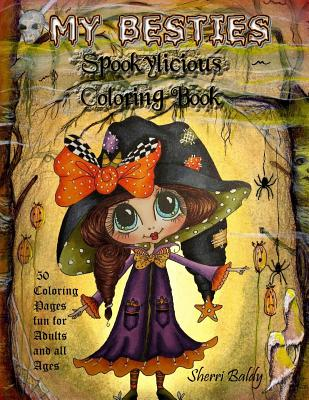My-Besties Spookylicious Coloring Book Cover Image