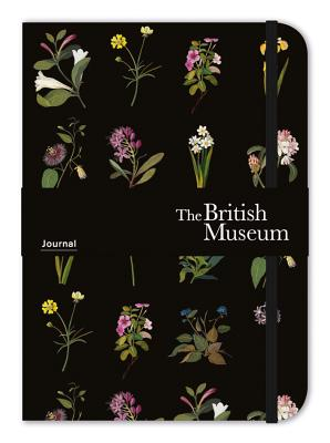 Museums & Galleries British Museum Elasticized Journal Delany Flowers Cover Image