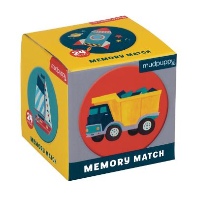 Transportation Mini Memory Match Game Cover Image