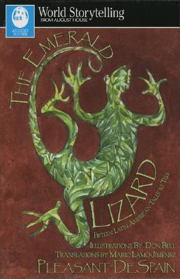 Emerald Lizard (World Storytelling from August House) Cover Image