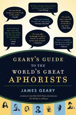 Geary's Guide to the World's Great Aphorists Cover Image