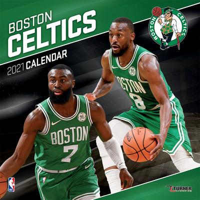 Boston Celtics 2021 12x12 Team Wall Calendar Cover Image