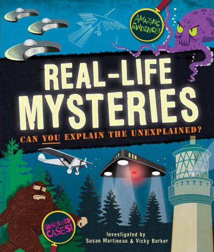 Real-Life Mysteries Cover Image