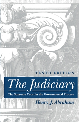 The Judiciary: Tenth Edition Cover Image