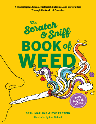 Scratch & Sniff Book of Weed Cover Image