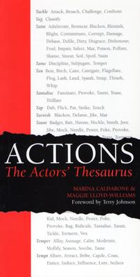 Actions: The Actors' Thesaurus Cover Image