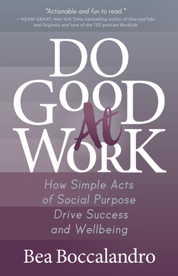 Cover for Do Good at Work