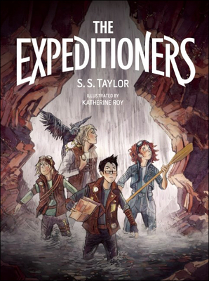Cover for Expeditioners and the Treasure of Drowned Man's Canyon
