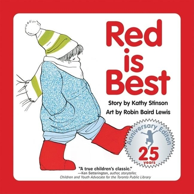 Red Is Best: 25th Anniversary Edition Cover Image