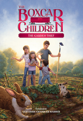 Cover for The Garden Thief (The Boxcar Children Mysteries #130)