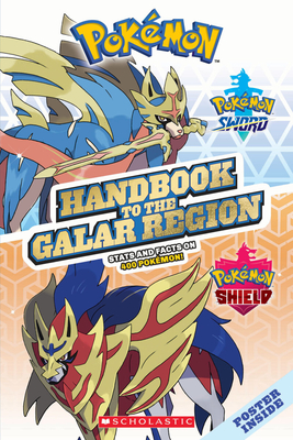 Handbook to the Galar Region (Pokémon) Cover Image