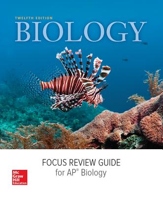 Mader, Biology, 2016, 12e (Reinforced Binding) AP Focus Review Guide (AP Biology Mader) Cover Image