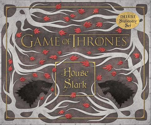 Game of Thrones: House Stark Deluxe Stationery Set Cover Image