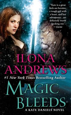 Magic Bleeds (Kate Daniels #4) Cover Image