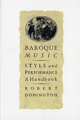 Cover for Baroque Music
