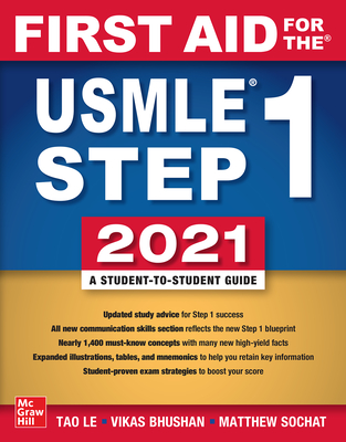 First Aid for the USMLE Step 1 2021, Thirty First Edition Cover Image