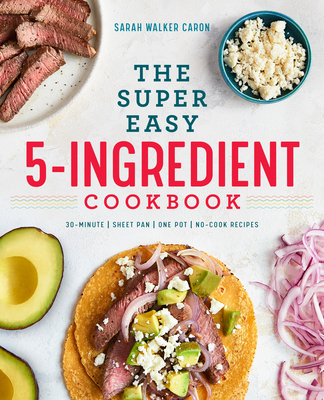 The Super Easy 5-Ingredient Cookbook Cover Image