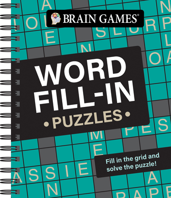 Brain Games - Word Fill-In Puzzles Cover Image