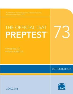 The Official LSAT Preptest 73: (Sept. 2014 Lsat) Cover Image