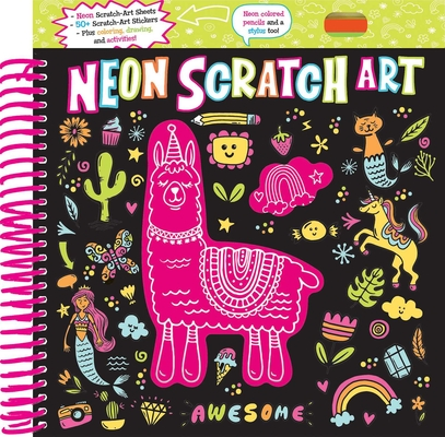 Neon Scratch Art Cover Image