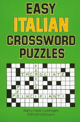 Easy Italian Crossword Puzzles (Language - Italian) Cover Image