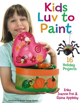 Kids Luv to Paint (Leisure Arts #22597) Cover