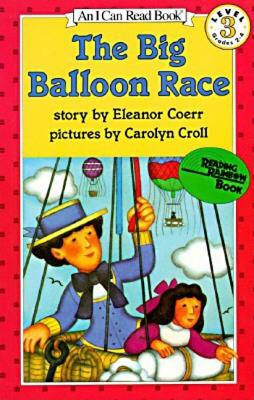 The Big Balloon Race (I Can Read Level 3) Cover Image