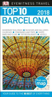 Top 10 Barcelona: 2018 (DK Eyewitness Travel Guide) Cover Image