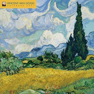 Vincent Van Gogh Wall Calendar 2021 (Art Calendar) Cover Image