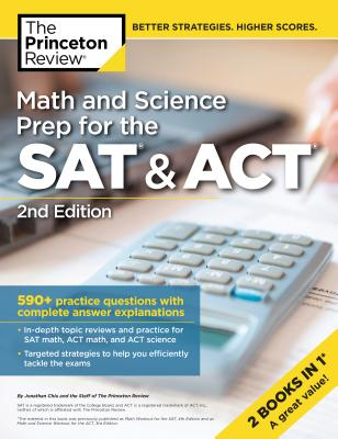 Math and Science Prep for the SAT & ACT, 2nd Edition cover image