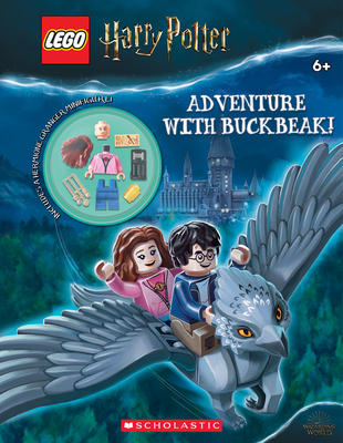 Adventure with Buckbeak! (LEGO Harry Potter: Activity Book with Minifigure) (LEGO Wizarding World of Harry Potter) Cover Image