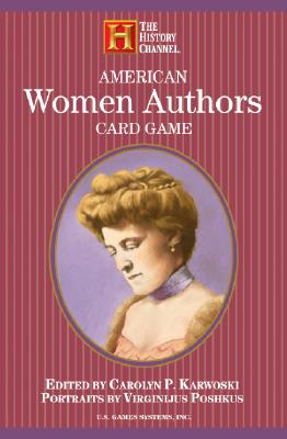 American Women Authors Card Game (History Channel) Cover Image