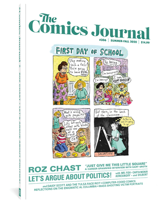 The Comics Journal #306 Cover Image