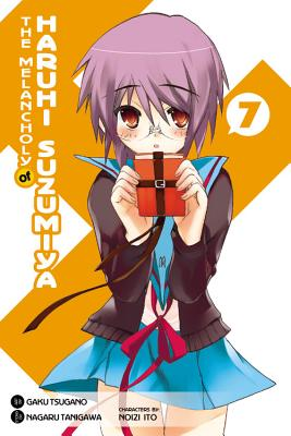 The Melancholy of Haruhi Suzumiya, Volume 7 Cover